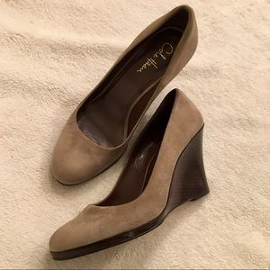 Cole Haan Grey Wedges, Size 9